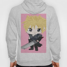 pink chibi cloud Hoody