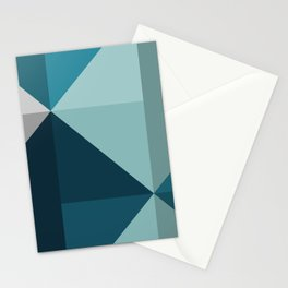 Geometric 1701 Stationery Cards
