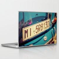 porsche Laptop & iPad Skins featuring Porsche by Sébastien BOUVIER