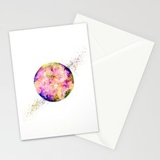Flower planet Stationery Cards