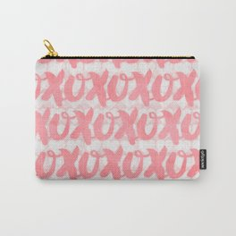 xoxo (pink) Carry-All Pouch