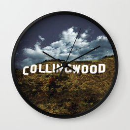 Collingwood hills Wall Clock