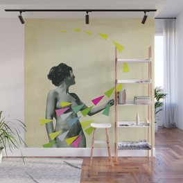 She's a Whirlwind Wall Mural
