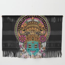 The Mask Dancer Wall Hanging