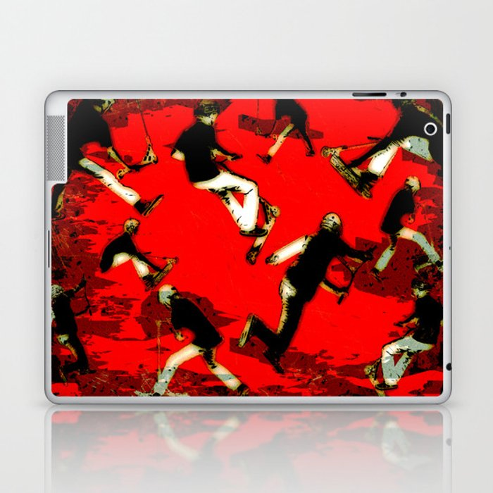 Scooter Mania - Stunt Scooter Fun Laptop & iPad Skin