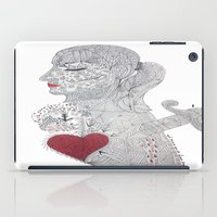selfie iPad Cases featuring Selfie by Ina Spasova puzzle