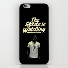 The Streets is Watching iPhone & iPod Skin