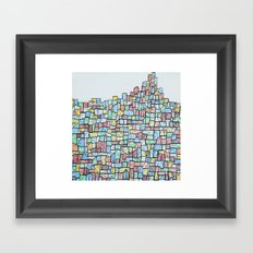 Hill. Framed Art Print