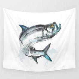 Tarpon Fish Wall Tapestry