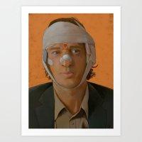 Francis Whitman - The Darjeeling Limited Art Print