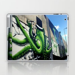 """Green Octopus"" Laptop & iPad Skin"