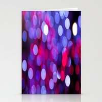 bokeh Stationery Cards featuring Bokeh by Alyson Cornman Photography