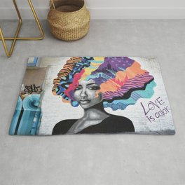Love is color Rug