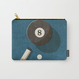 BILLIARDS / Ball 8 Carry-All Pouch