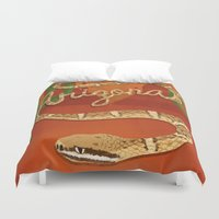 arizona Duvet Covers featuring Arizona by Santiago Uceda