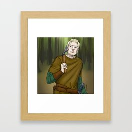 Ivar the Hunter Framed Art Print