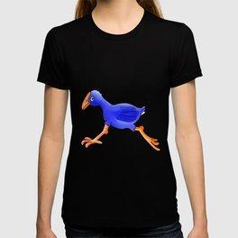 Running Pukeko - Swamp hen T-shirt