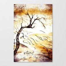landscape Blossom Canvas Print