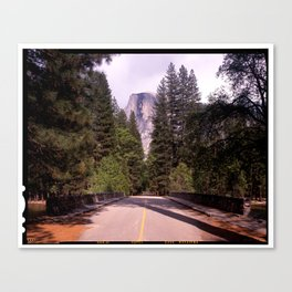 Ahwahnee Bridge, Yosemite Village Canvas Print