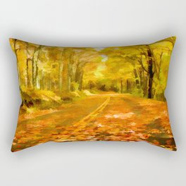 Autumns Glow Rectangular Pillow