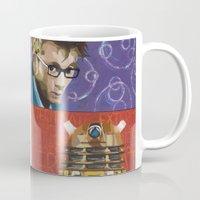 dalek Mugs featuring Doctor Dalek by Topaz Arrow