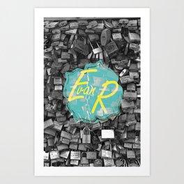 Evan Rivas Design Locks Art Print