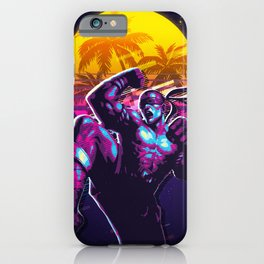 lee sin league of legends game 80s palm vintage iPhone Case