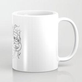 Embellished Snake Coffee Mug