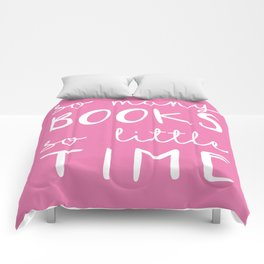 so many books, so little time  Comforters