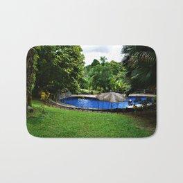 Pool days in the Rain Forest Bath Mat