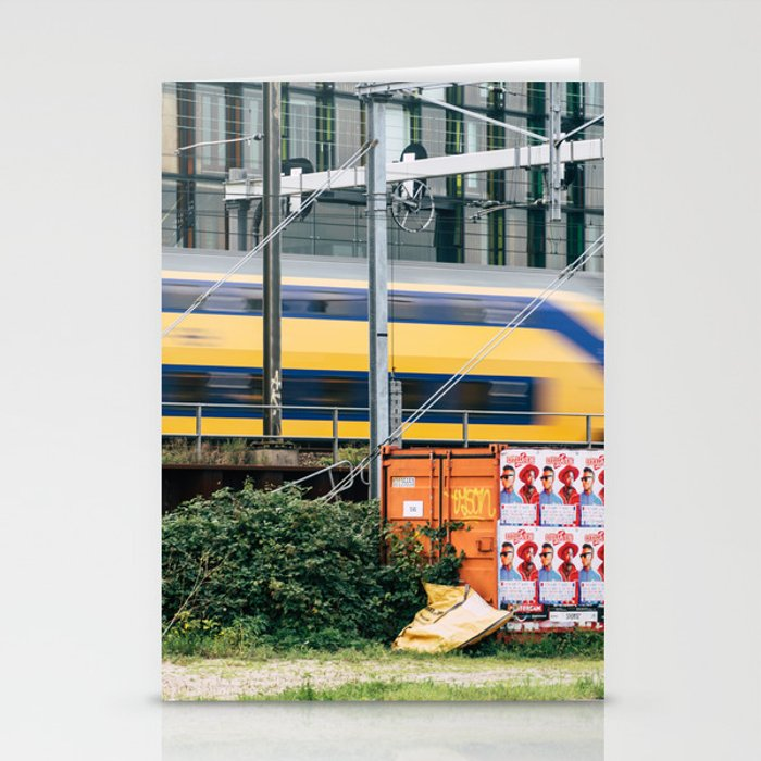Commuter Train Stationery Cards