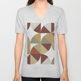 Brown Pies Unisex V-Neck