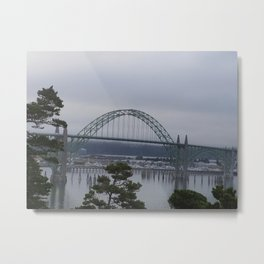 Yaquina Bay Bridge Newport, Or Metal Print