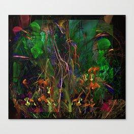 Alien Flowers Canvas Print