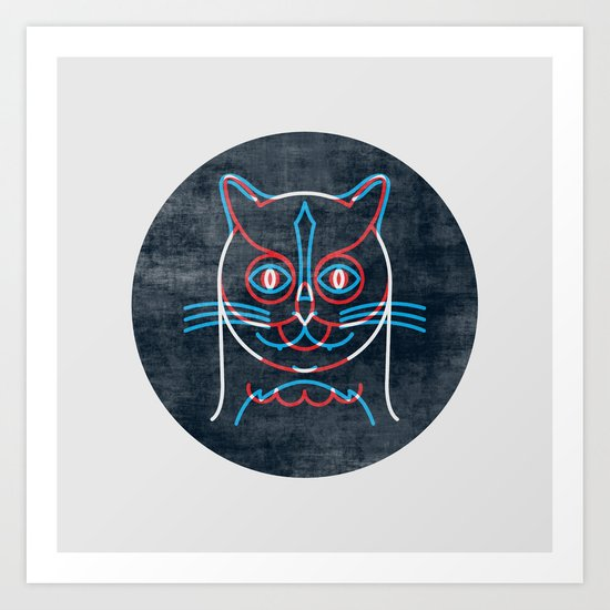 The Pussycat and The Owl Art Print