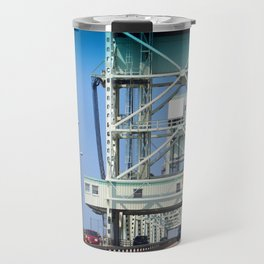 Crossing The Bridge Travel Mug