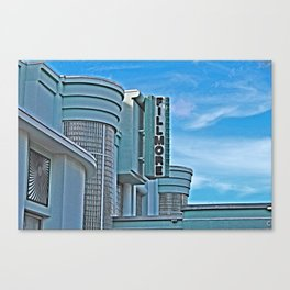 Vintage Movie Theater Canvas Print