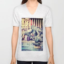 Fountain of Angels Unisex V-Neck