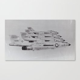 Jock flying in formation Canvas Print