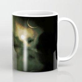 Pyramids Green Coffee Mug