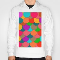 circles Hoodies featuring Circles.  by Eleaxart