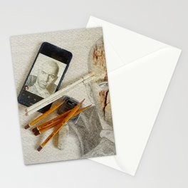 abstract art  Stationery Cards