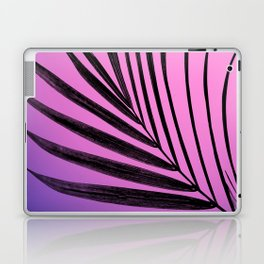 Simple palm leaves in purplish gradient Laptop & iPad Skin