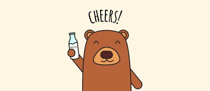 Cheers, Bear! Coffee Mug