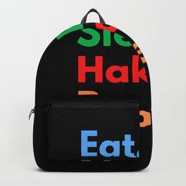 Eat. Sleep. Haka. Repeat. Backpack