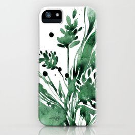 Organic Impressions No. 103 by Kathy Morton Stanion iPhone Case