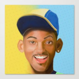 """Will of """"Bel-Air"""" Canvas Print"""