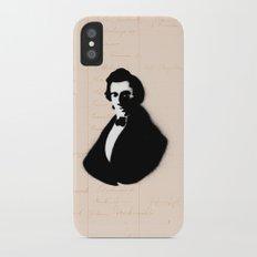 The Artist Slim Case iPhone X