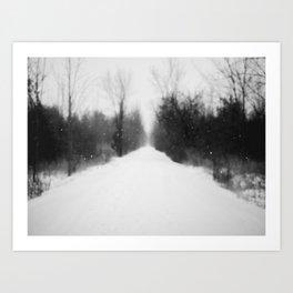 Blister In The Snow Art Print