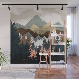 Forest View Wall Mural